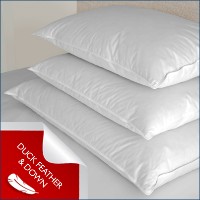 Homebuz product item for Duck or goose feather pillows which is better